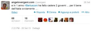 tweet 28 settembre 2013